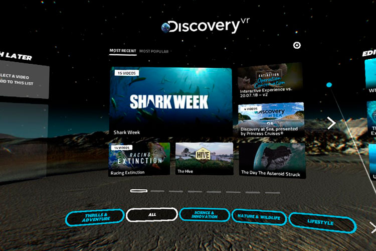 Discovery VR Screenshot