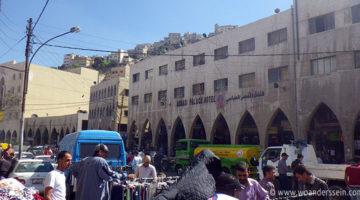 In Amman, Jordanien angekommen