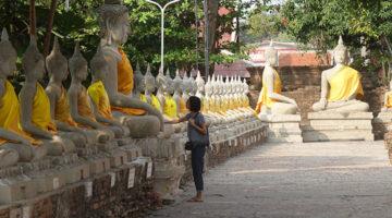 Tempelhüpfen & Neujahrsfest in Ayutthaya