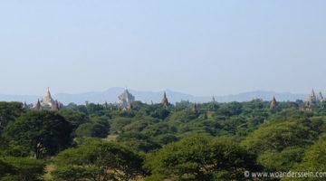 bagan pagoda ausblick
