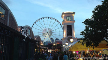 Asiatique Night Market in Bangkok