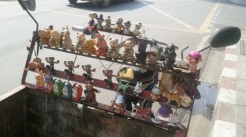 Kostenlos mit dem TukTuk durch Bangkok