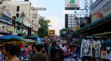 Chao Praya Richtung Khao San