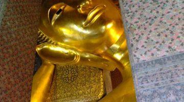 Weihnachten & der Wat Pho in Bangkok