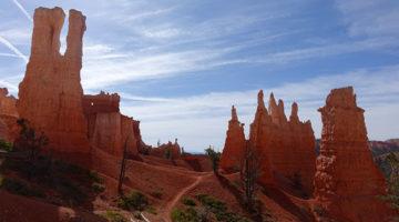 Die Hoodoos vom Bryce Canyon in Utah