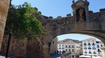 Cáceres und die Hitze der Extremadura