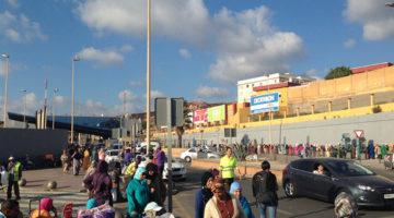 Mit der Fähre von Algeciras nach Ceuta an die nordafrikanische Küste