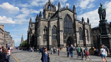 Edinburgh, eine Zeitreise zurück ins Mittelalter
