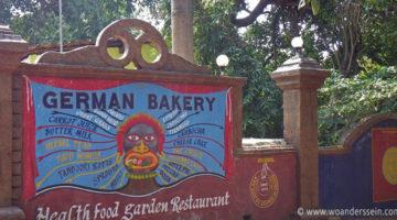 German Bakery in Anjuna