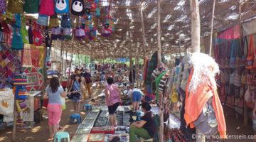 Goa's Hippie Markt in Anjuna