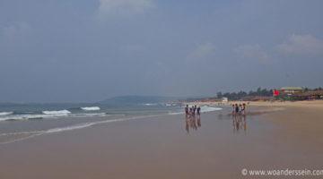 Calangute Beach nebenan