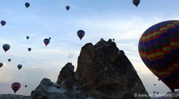 Göreme – Heißluftballon und BBQ