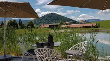 Entspannung pur! Zum Hochzeitstag im Haubers Naturresort im schönen Allgäu.