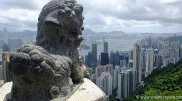 hongkong island ausblick