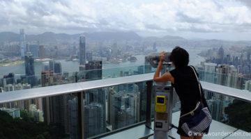 Hongkong Island & der Mega Ausblick vom Victorias Peak