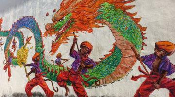 Eindrücke aus Chinatown in Ipoh