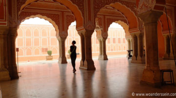 """Prachtvolle Paläste in der """"Pink City"""" Jaipur"""
