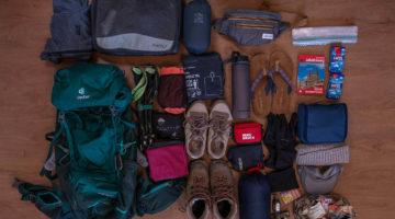 Packliste Camino Frances Oktober