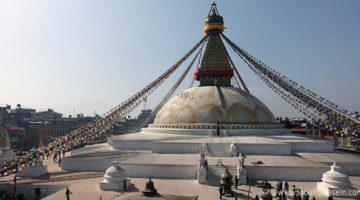 Kontrastprogramm in Kathmandu