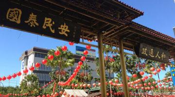 Chinesisches Neujahr in Kota Kinabalu
