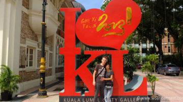 Regen ohne Ende in Kuala Lumpur