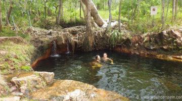 Gigantische Termiten Hügel & Regenzeit in Darwin