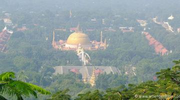 mandalay tour sagaing hill aussicht budhauni
