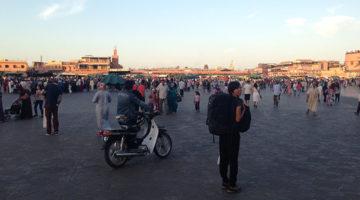 Mit dem Zug von Fès nach Marrakesh