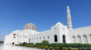 Die große Sultan Qabus Moschee