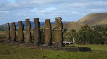 Die Osterinsel, ein magischer Ort weit draussen im Pazifik