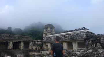 Mayaruinen im Dschungel von Palenque