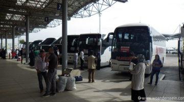 Bus von Pamukkale nach Istanbul