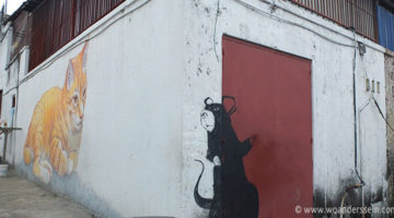 Ein Klanhaus, Streetart und Penang Hill bei Georgetown