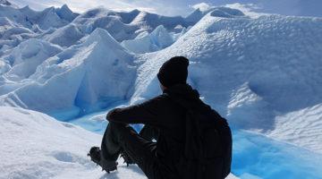 Spaziergang auf dem Perito Moreno Gletscher