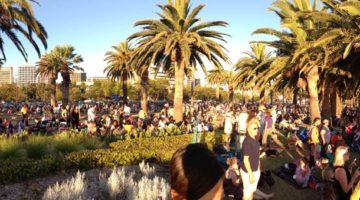 perth australia day pano