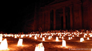 Petra bei Nacht – Gänsehaut Event an einem sensationellem Ort