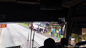 sandakan kotakinabalu bus unfall