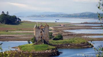 Schlösser, Meeresfrüchte und dicke Wolken bei Glencoe