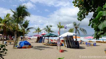 Seminyak & das Moloch Kuta Beach auf Bali