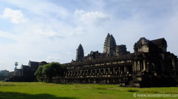 Von Bangkok nach Siem Reap, Kambodscha