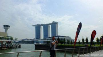 Von Melaka mit dem Bus nach Singapur