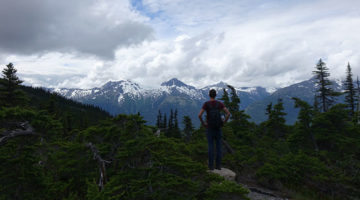 Hiking in Skagway & weiter nach Kanada