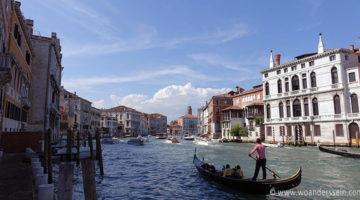 Zu Besuch bei den Gondoliere in Venedig