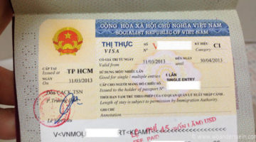 Visa on Arrival in Saigon