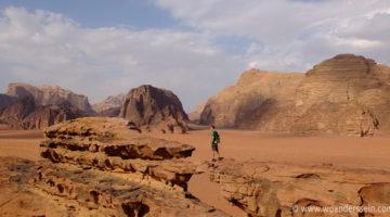 Jeep Tour durch die Wüste im Wadi Rum