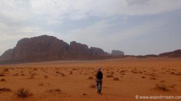 Von Aqaba nach Wadi Rum